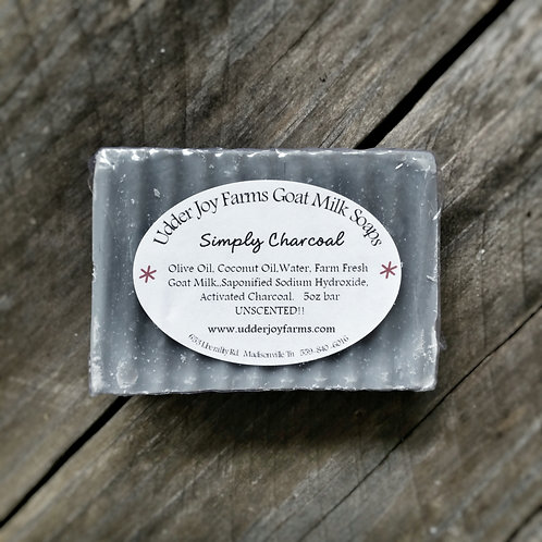 Simply Charcoal Goat Milk Soap