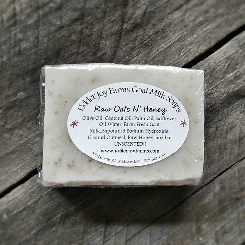 Raw Oats N' Honey  Goat Milk Soap