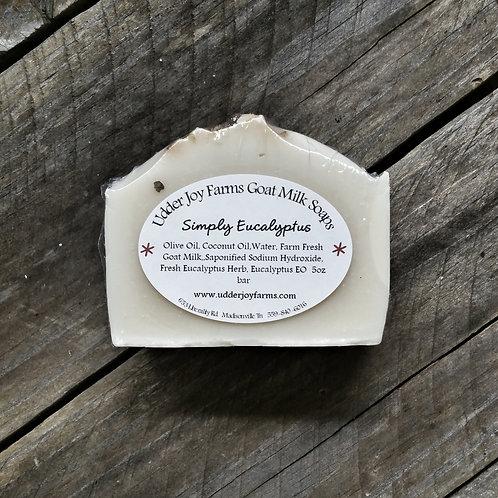 Simply Eucalyptus Goat Milk Soap-Wholesale