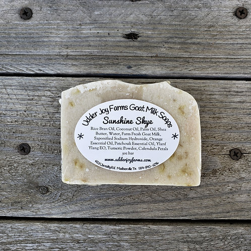 Sunshine Skye Goat Milk Soap-Wholesale