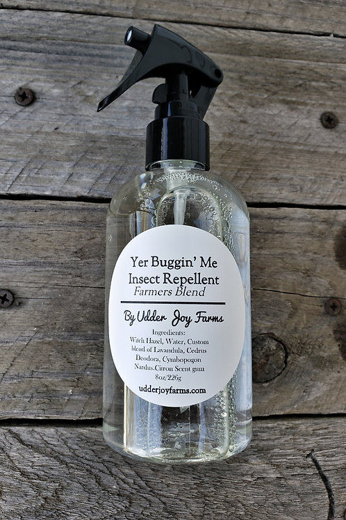 Yer' Buggin Me Insect Spray-Wholesale only