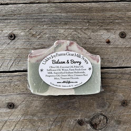 Balsam & Berry Goat Milk Soap