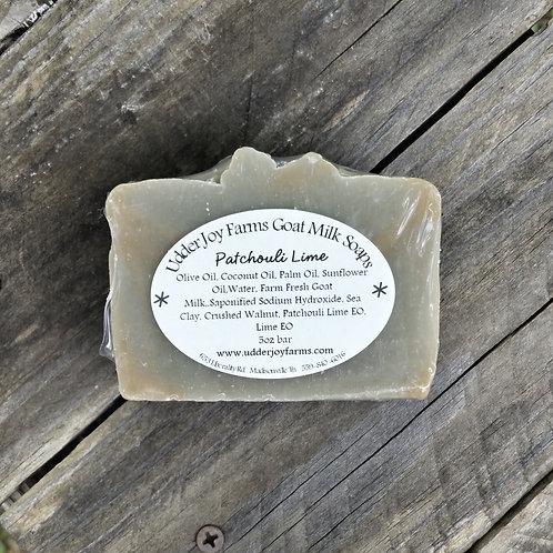 Patchouli Lime Goat Milk Soap
