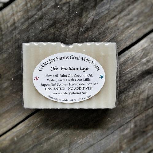 Ole' Fashion Lye Goat Milk Soap