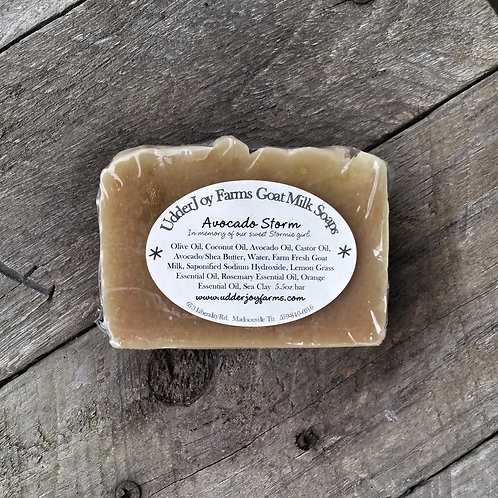 Avocado Storm Goat Milk Soap-Wholesale