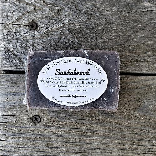 Sandalwood Goat Milk Soap-Wholesale