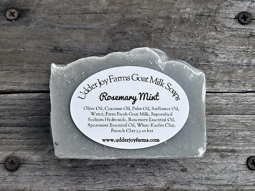 Rosemary Mint Goat Milk Soap-Wholesale