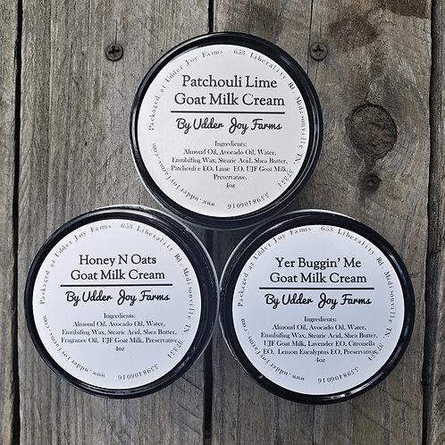 4 oz Goat Milk Creams