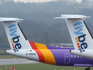 UK airline Flybe eyes return to skies after rescue
