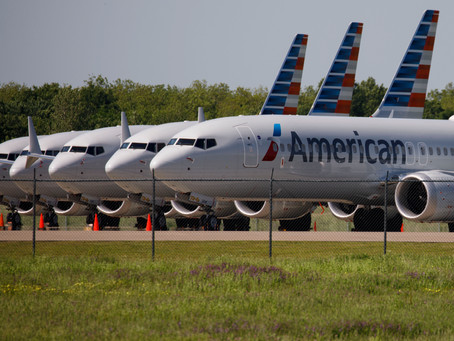 American Air to run Boeing 737 Max at year end, Bloomberg News reports