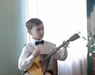 Наши юные исполнители на народных инструментах