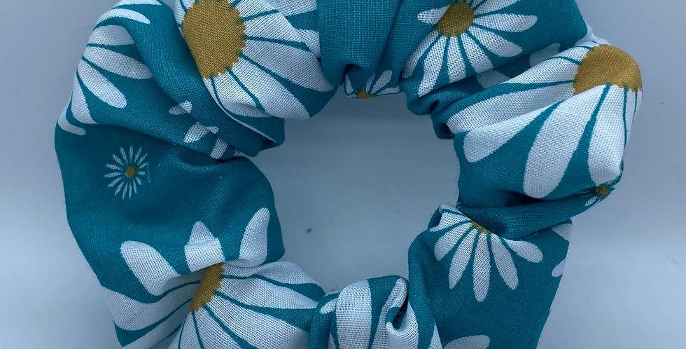 Blue Daisy Mask & Scrunchie Set