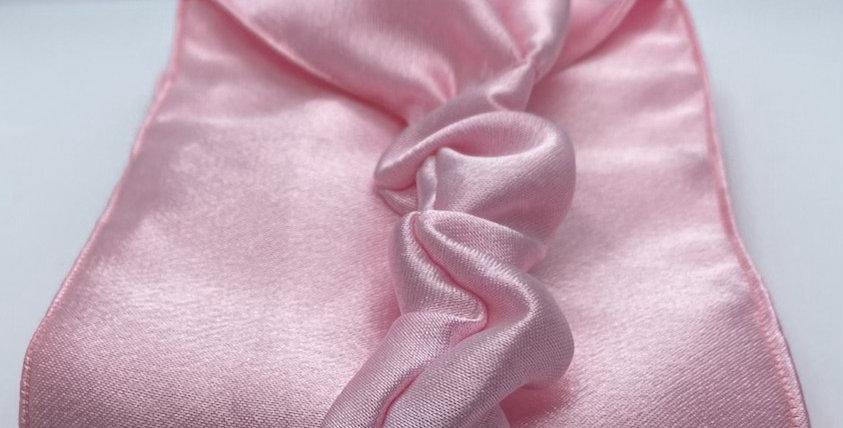 Light Pink Satin Headband