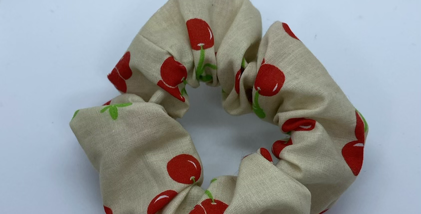 Cherry Scrunchie