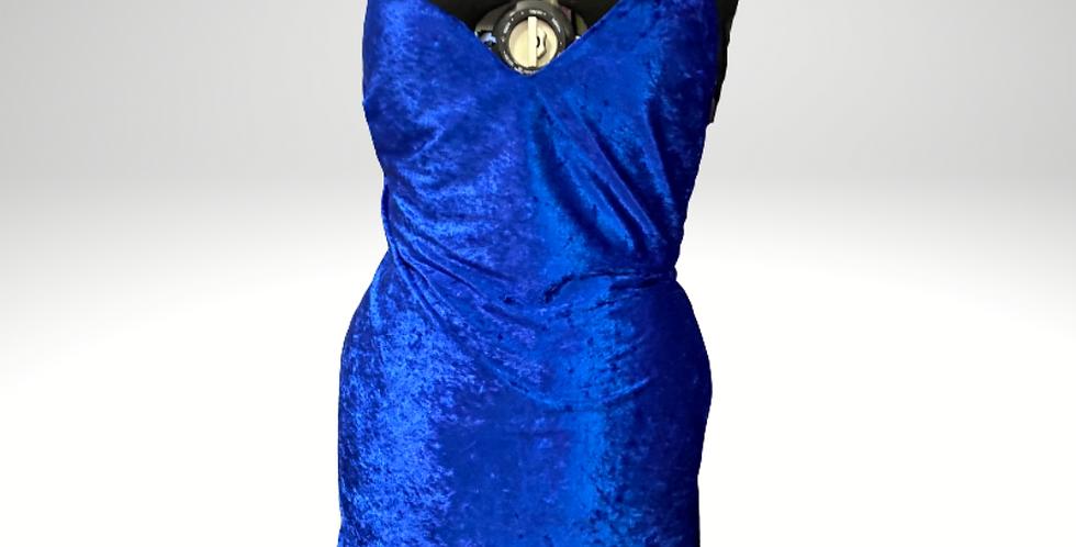 Mona Crushed Velvet Nightie With shorts