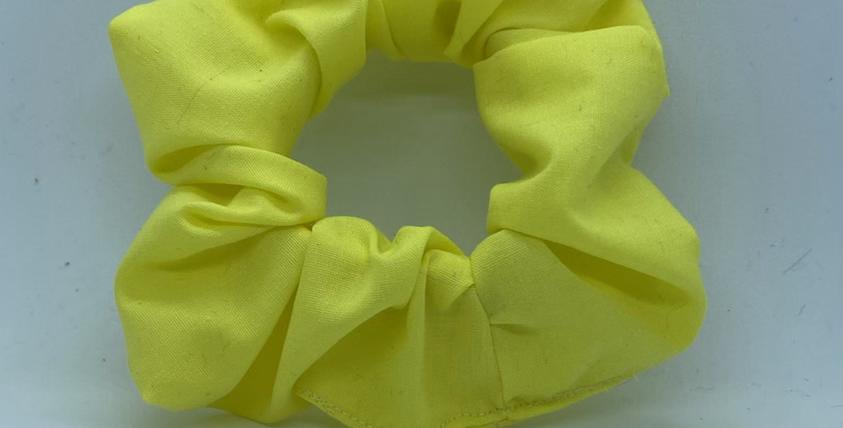 Yellow Scrunchie