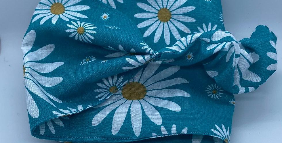 Blue DaisyHeadband