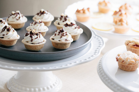 Miniature Chocolate Cream Pies