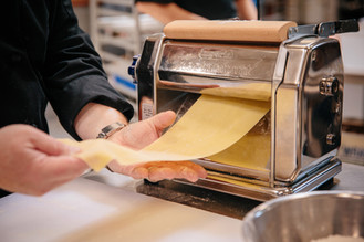Making Pasta from Scratch at Capers Catering