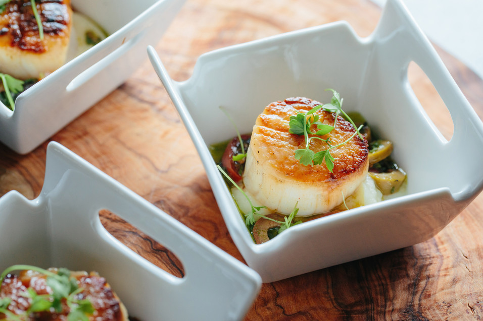 Day Boat Scallop with Sauce Vierge