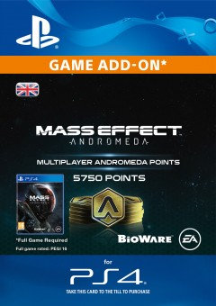 5750 Mass Effect: Andromeda Points