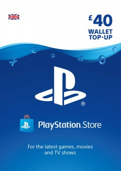 PSN Wallet Top Up - £40.00
