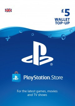 PSN Wallet Top Up - £5.00