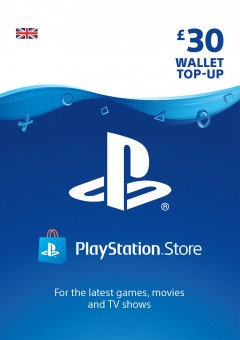 PSN Wallet Top Up - £30.00