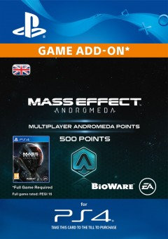 500 Mass Effect: Andromeda Points