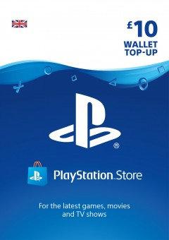 PSN Wallet Top Up - £10.00