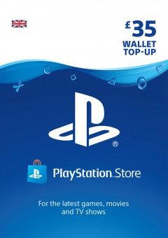 PSN Wallet Top Up - £35.00