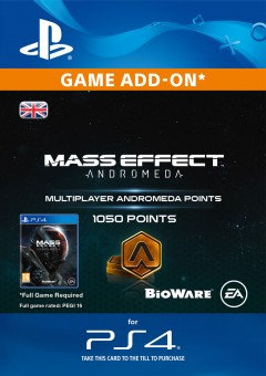 1050 Mass Effect: Andromeda Points