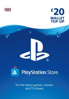PSN Wallet Top Up - £20.00