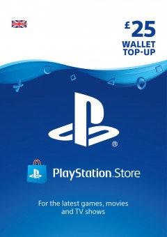 PSN Wallet Top Up - £25.00