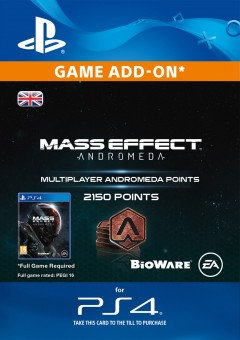 2150 Mass Effect: Andromeda Points