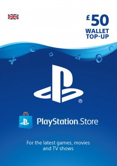 PSN Wallet Top Up - £50.00