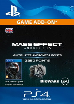 3250 Mass Effect: Andromeda Points