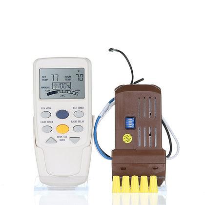 CHQ7096TKIT Universal Thermostatic Add-on Remote Control Ceiling Fan Kit