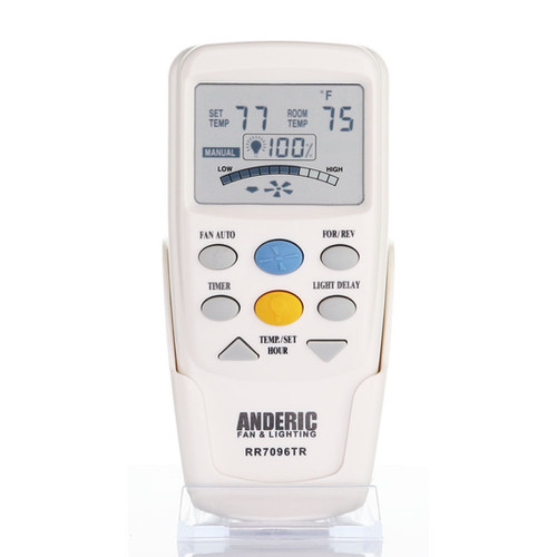 Rr7096tr With Reverse Ceiling Fan Remote Control Anderic