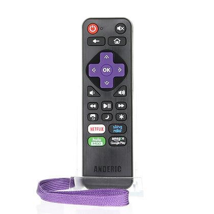 RRLC16.2 Universal Roku Remote Pre-programmed for Sharp Roku TVs