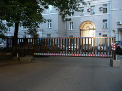 Ворота во дворе