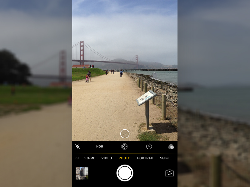 Dribbble Camera Interface Enhancements