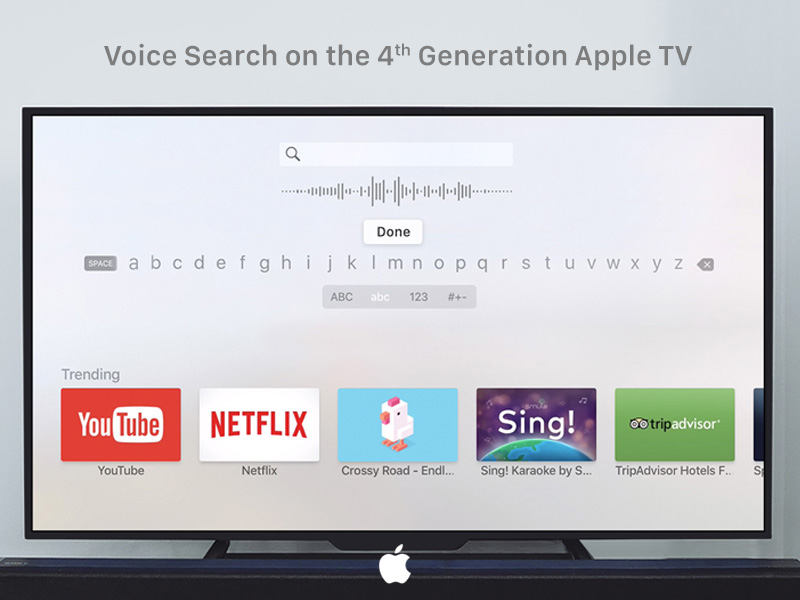 Voice Search - Apple TV