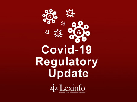Covid-19 Regulatory News: Adjusted Level 2 Regulations and Extension of National State of Disaster