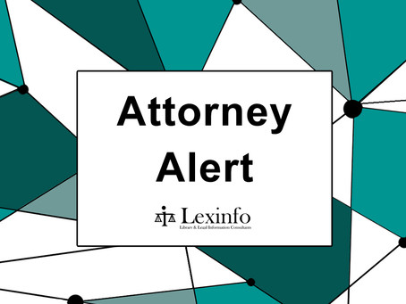New legislation gazetted on 20 January 2021 (Extract from our weekly Lexinfo Attorney Alert)
