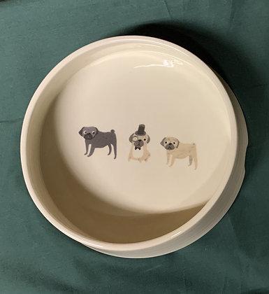 Fenella Smith Pug Dog Bowl