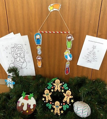 Pre-School Christmas Activity Pack full of great activities