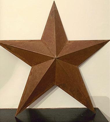 Rusty Star Decoration