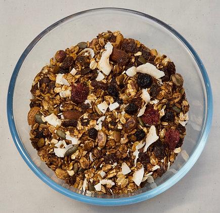 Bag of organic granola