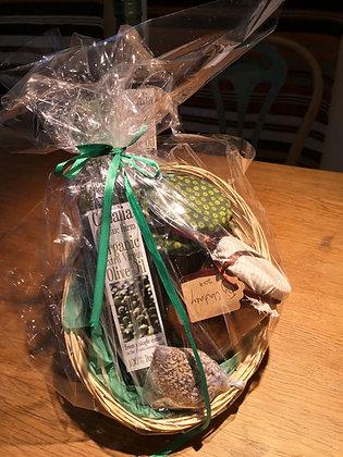 Olive Oil Basket £20